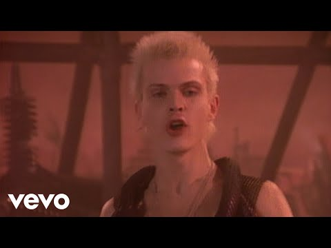Billy Idol - Dancing With Myself (Official Music Video)
