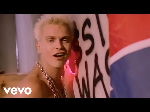 Billy Idol - Hot In The City (Official Music Video)