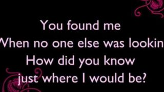 Kelly Clarkson - You Found Me