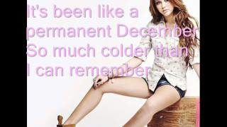 miley cyrus permanent december youtube music 320x180 - Miley Cyrus - Permanent December